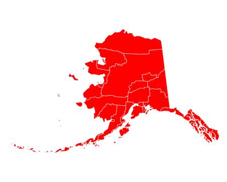 alaska: Map of Alaska