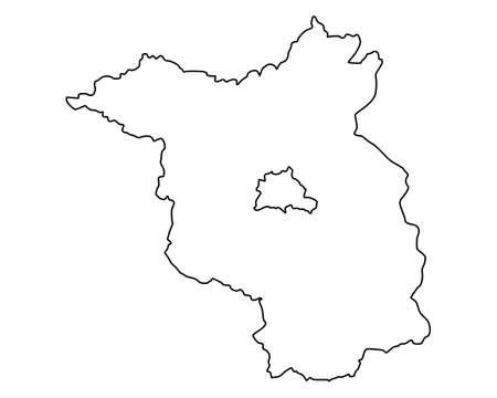 brandenburg: Map of Brandenburg