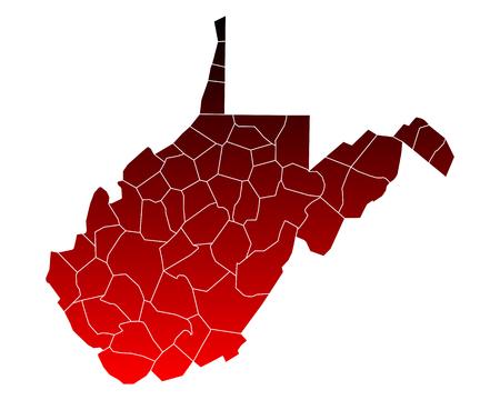 counties: Map of West Virginia