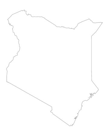 kenya: Map of Kenya