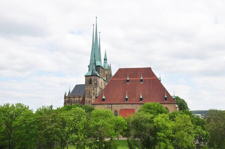 severus: Cathedral and Church of Saint Severus in Erfurt