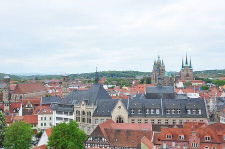 erfurt: View over Erfurt