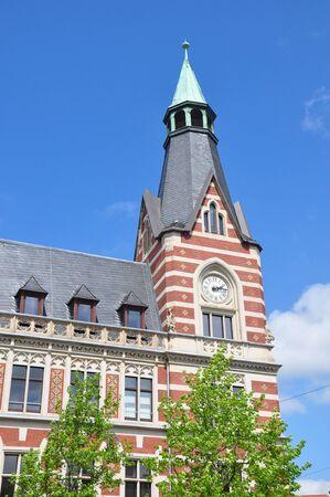 erfurt: Main Post Office in Erfurt