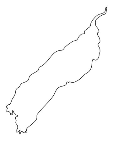 Map of Lake Albert