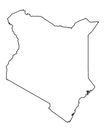 kenya: Map of Kenya