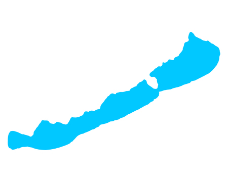 Map of Lake Balaton