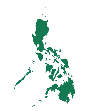 Map of Philippines Illustration