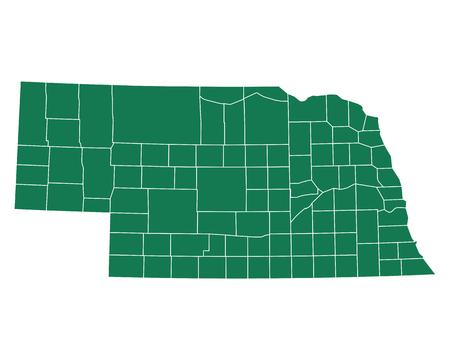 Map of Nebraska