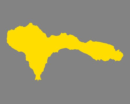 Map of Sao Nicolau.