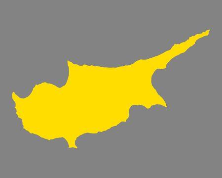 키프로스지도