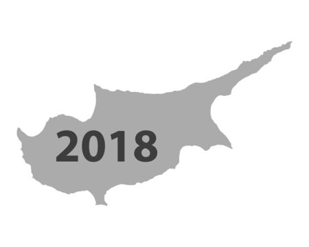 Map of Cyprus 2018