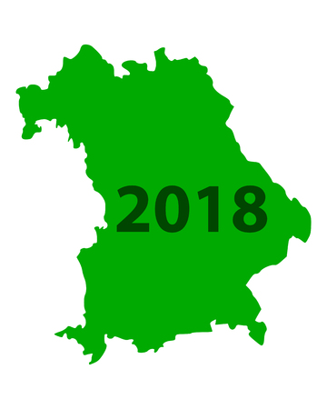 Map of Bavaria 2018