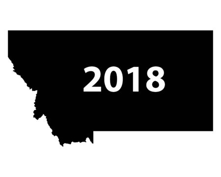 몬타나 2018지도