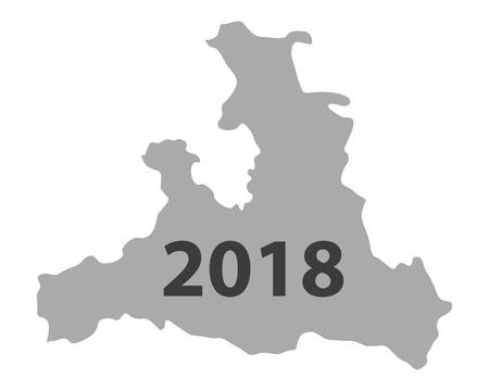 Map of Salzburg 2018