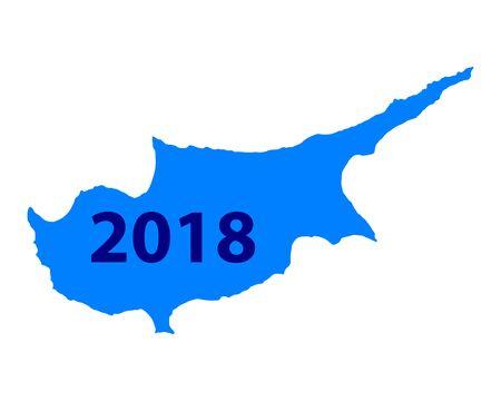 キプロス 地図 2018