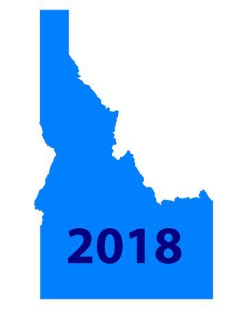 Map of Idaho 2018
