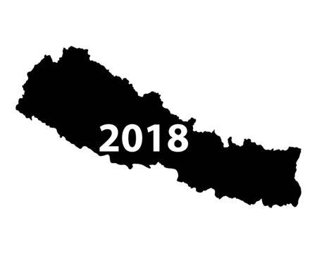 Map of Nepal 2018