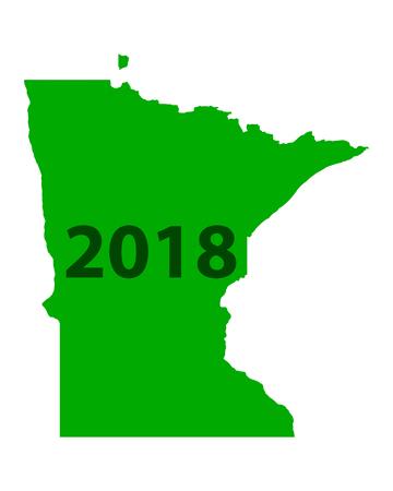 Map of Minnesota 2018