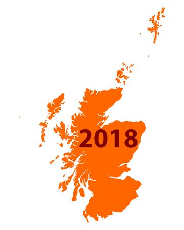 Map of Scotland 2018