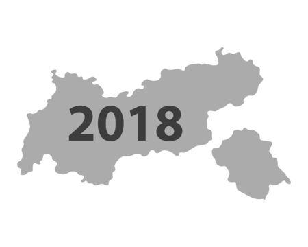 Map of Tyrol 2018
