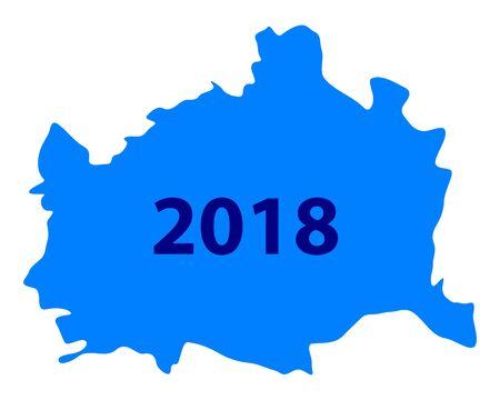 비엔나의지도 2018