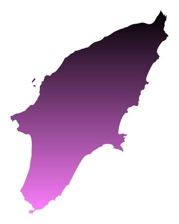 Map of Rhodos