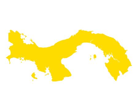Map of Panama Imagens - 114389920