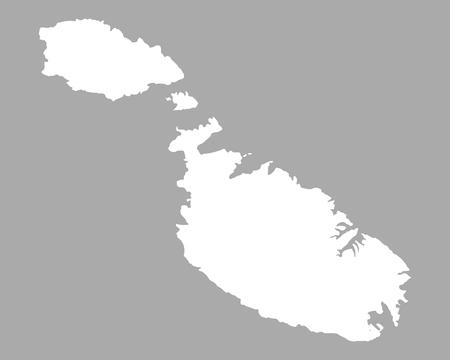 Map of Malta 스톡 콘텐츠 - 126505397