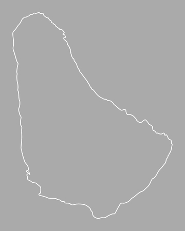 Map of Barbados