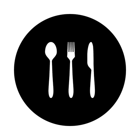 Cutlery and circle