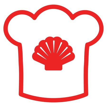 Shell and chef hat