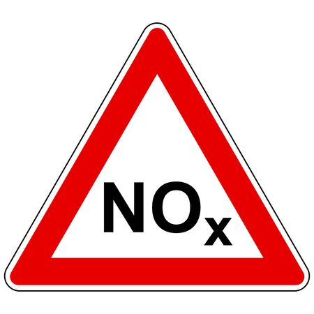 NOx  and attention sign