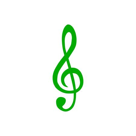 Violin clef and background