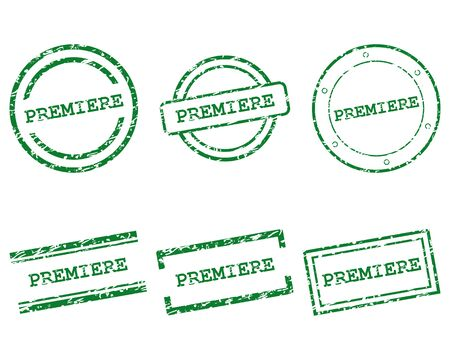 Premiere stamps