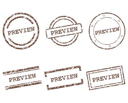 Anteprima francobolli