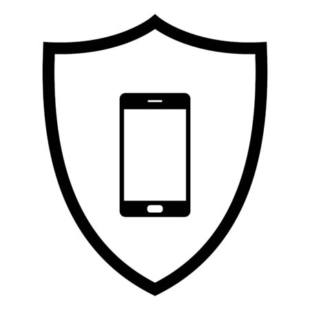Smartphone and shield