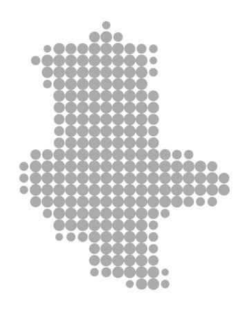 Map of Saxony-Anhalt Standard-Bild - 132224648