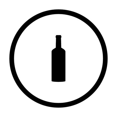 Bottle and circle