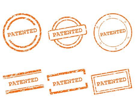 Patented stamps Illustration