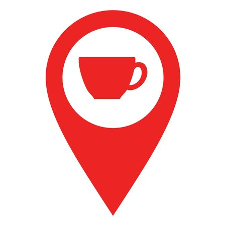 Cup and location pin