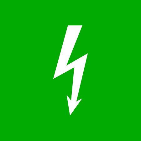 Lightning and background Vector Illustration