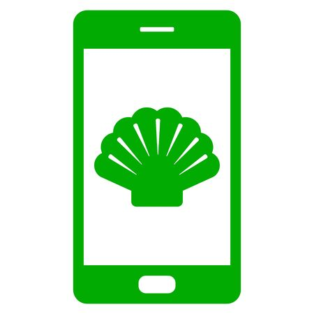 Shell and smartphone