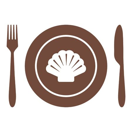 Shell and cutlery