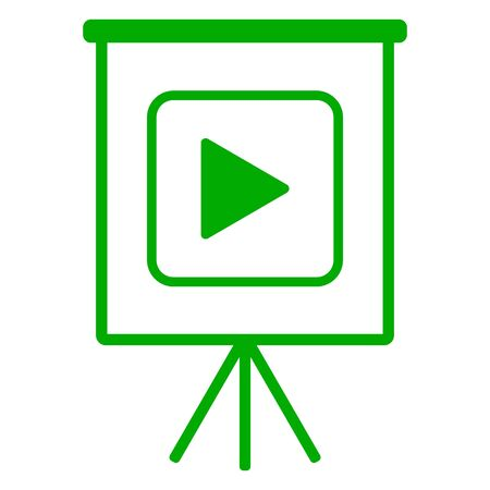 Video and flipchart