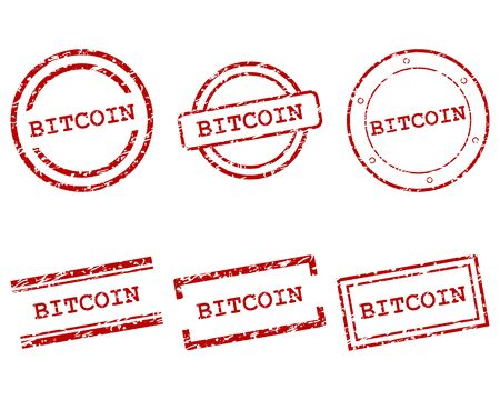 Bitcoin stamps 向量圖像
