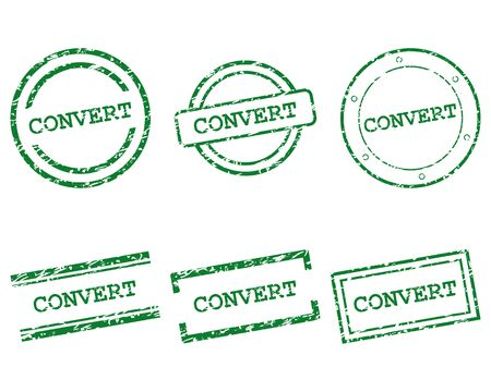 Convert stamps 向量圖像