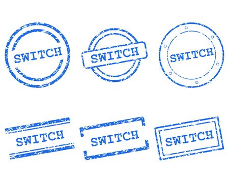 Switch stamps 向量圖像