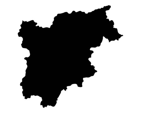 Map of Trentino-South Tyrol
