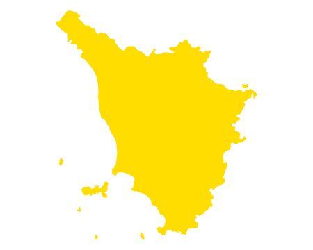 Map of Tuscany 免版税图像 - 140882331