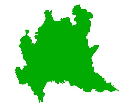Map of Lombardy